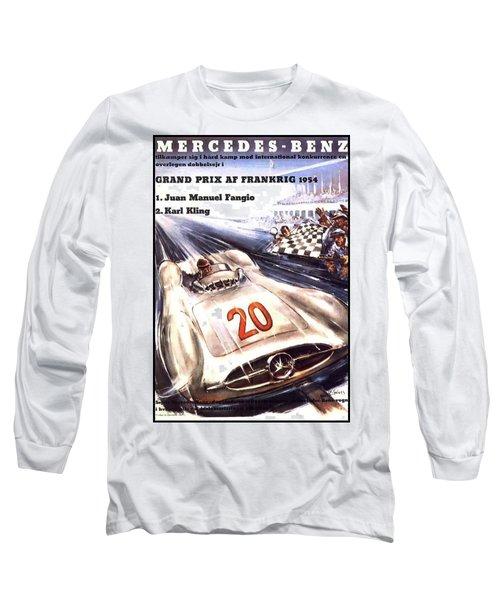 Grand Prix F1 Reims France 1954  Long Sleeve T-Shirt