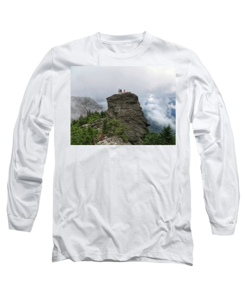 Grandfather Mountain Hikers Long Sleeve T-Shirt