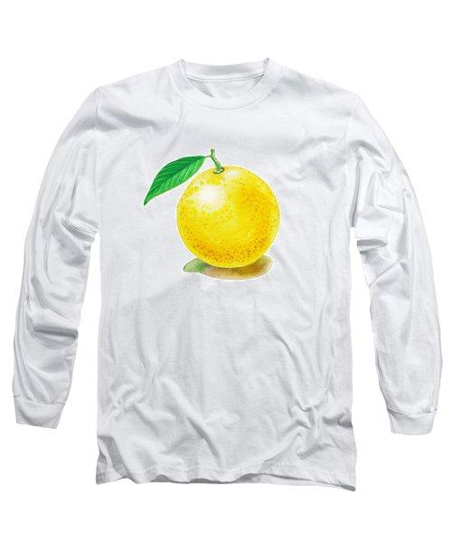 Grapefruit Long Sleeve T-Shirt