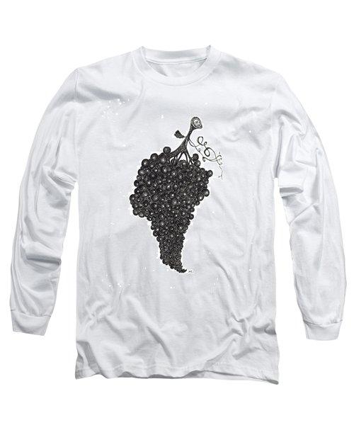 Grapefull Greetings Long Sleeve T-Shirt