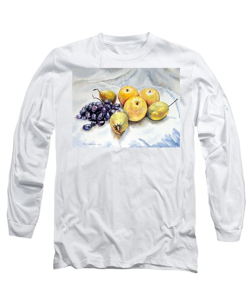 Grapes And Pears Long Sleeve T-Shirt
