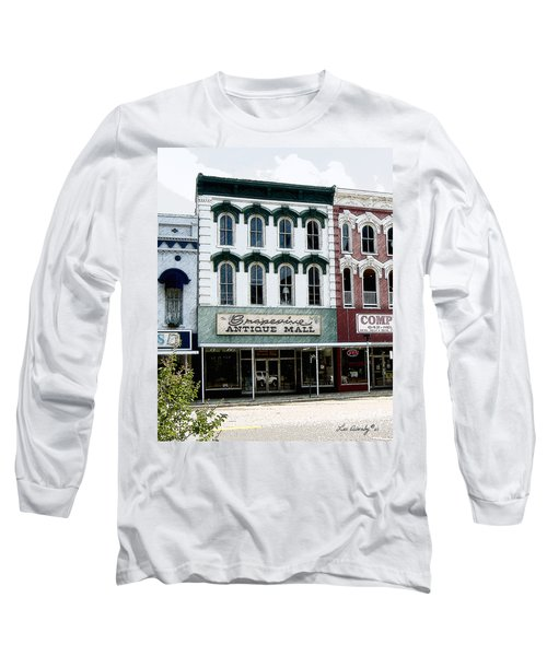 Grapevine Antiques Long Sleeve T-Shirt