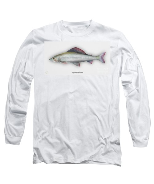 Grayling - Thymallus Thymallus - Ombre Commun - Harjus - Flyfishing - Trout Waters - Trout Creek Long Sleeve T-Shirt