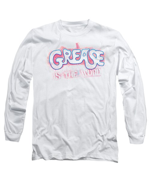 Grease - Grease Is The Word Long Sleeve T-Shirt