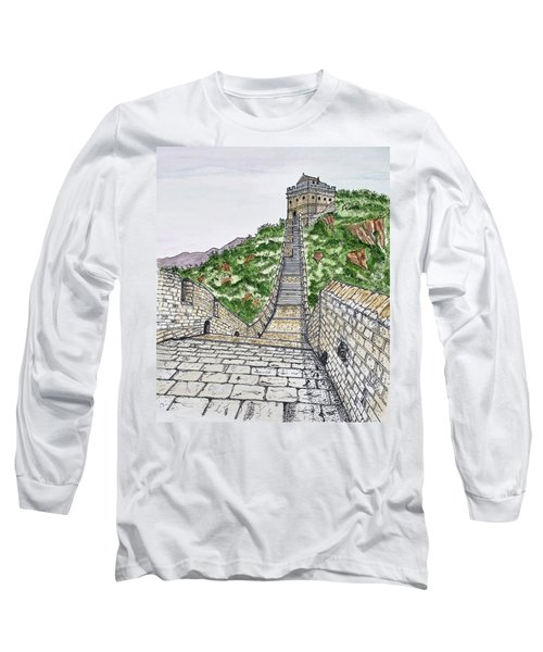 Greatest Wall Ever Long Sleeve T-Shirt