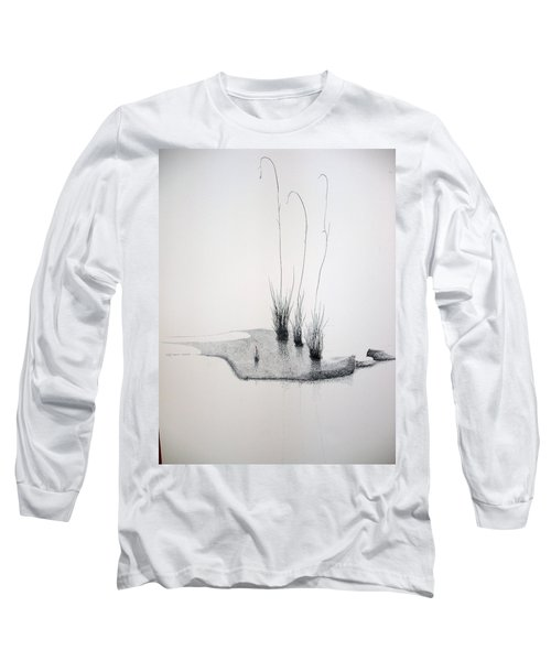 Long Sleeve T-Shirt featuring the painting Greek Chorus by A  Robert Malcom