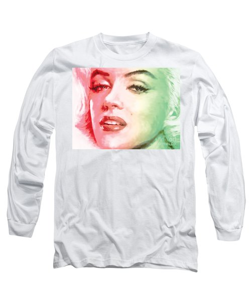 Green And Red Beauty Long Sleeve T-Shirt