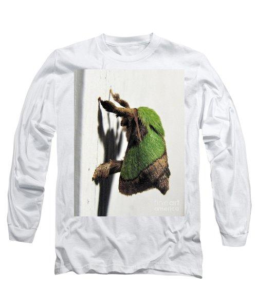 Green Hair Moth Long Sleeve T-Shirt