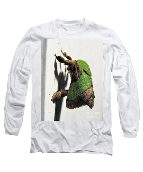 Green Hair Moth Long Sleeve T-Shirt