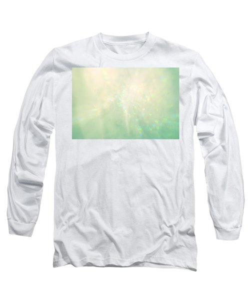 Green Hearts Long Sleeve T-Shirt