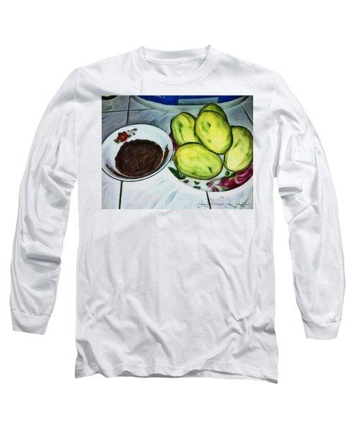 Green Mangoes Long Sleeve T-Shirt