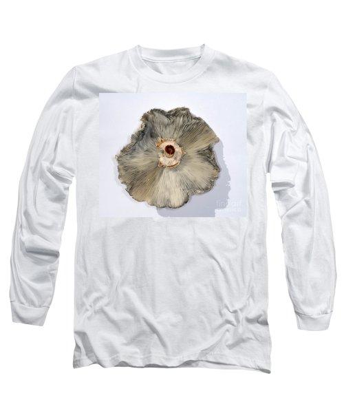 Green-spored Parasol Mushroom Long Sleeve T-Shirt