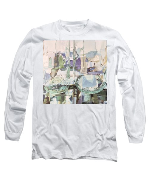 Green Transparency Transparence Verte 1981 Oil On Canvas Long Sleeve T-Shirt