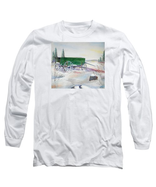 Green Wagon Long Sleeve T-Shirt