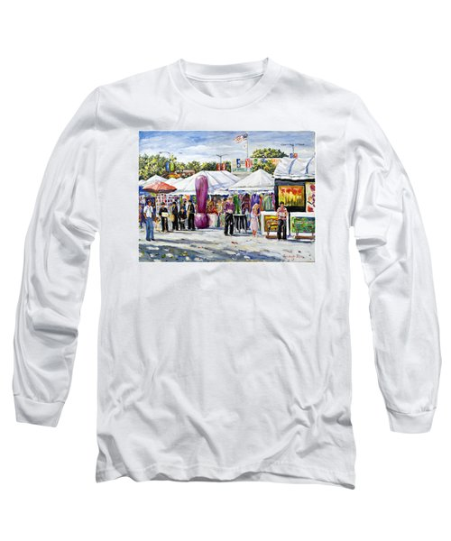 Greenwich Art Fair Long Sleeve T-Shirt