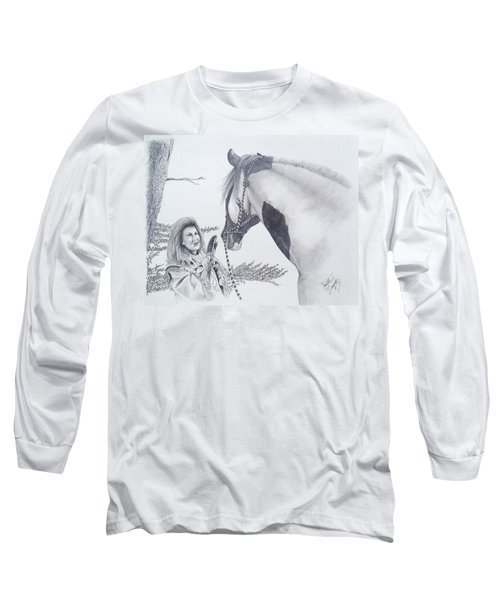 Greeting At The Monument Long Sleeve T-Shirt