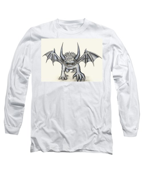Grevil Long Sleeve T-Shirt by Shawn Dall
