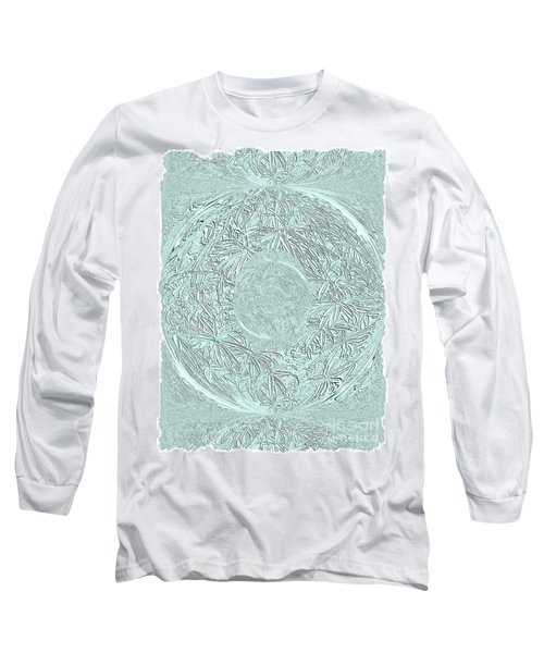 Grey Seal Long Sleeve T-Shirt by Oksana Semenchenko