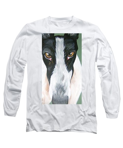 Greyhound Eyes Long Sleeve T-Shirt