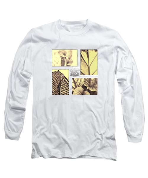 Long Sleeve T-Shirt featuring the photograph Growth by John Hansen