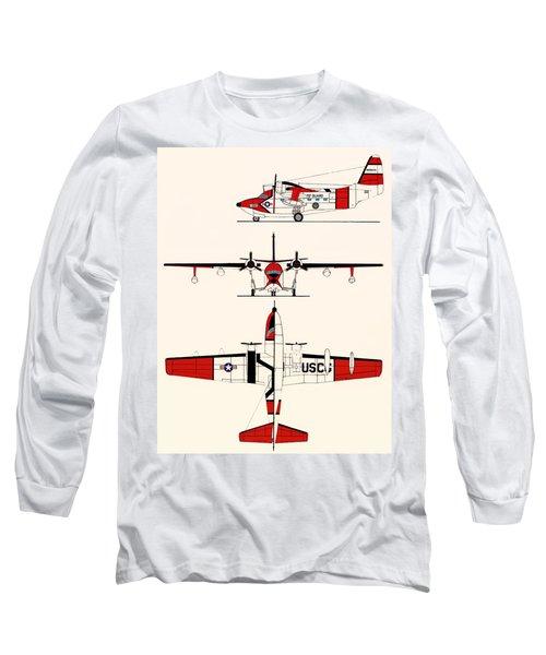Grumman Hu-16e Albatross Long Sleeve T-Shirt
