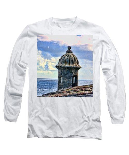 Guard Tower At El Morro Long Sleeve T-Shirt