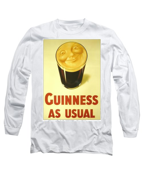 Guinness As Usual Long Sleeve T-Shirt