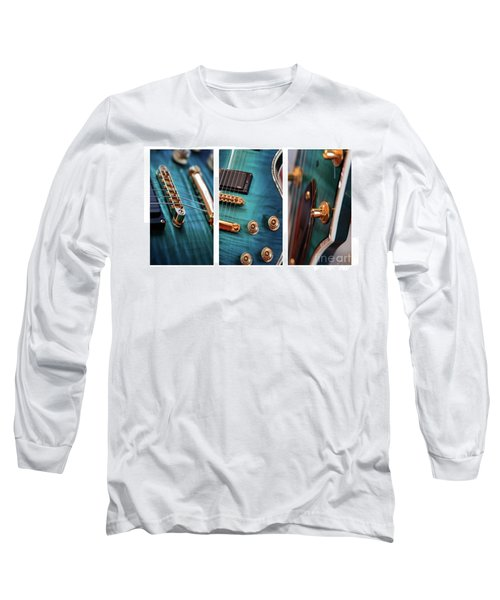Long Sleeve T-Shirt featuring the photograph Guitar Life by Joy Watson