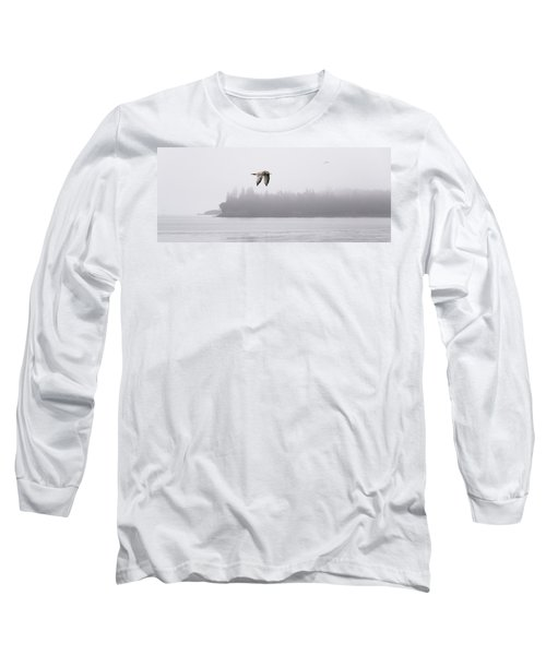 Gull In Flight Long Sleeve T-Shirt