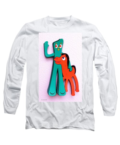 Gumby And Pokey B F F Long Sleeve T-Shirt