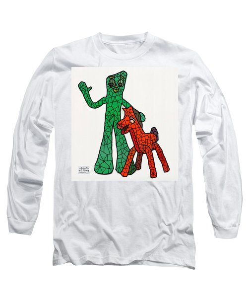 Gumby And Pokey Not For Sale Long Sleeve T-Shirt