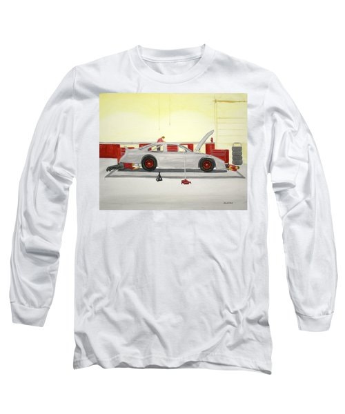 Guys Back At The Shop Long Sleeve T-Shirt