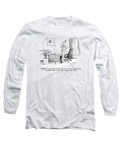 Hadley?  I Just Found Out That The Era Long Sleeve T-Shirt