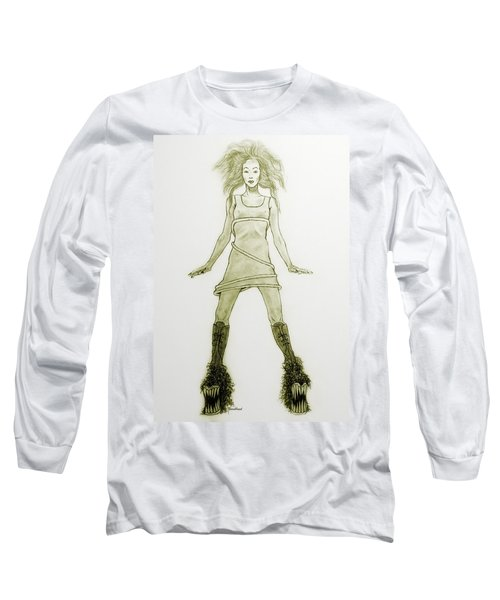 Hairy Boots Long Sleeve T-Shirt