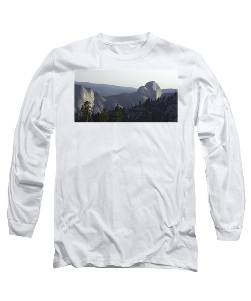 Half Dome From Olmsted Pt Long Sleeve T-Shirt