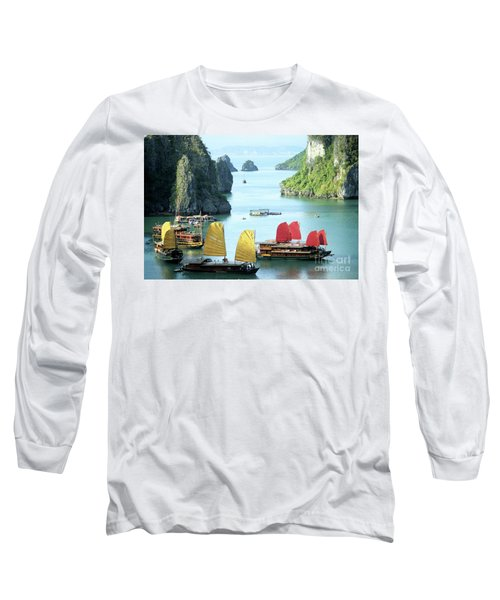 Halong Bay Sails 01 Long Sleeve T-Shirt