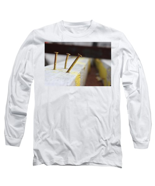Hammer And Nail Long Sleeve T-Shirt