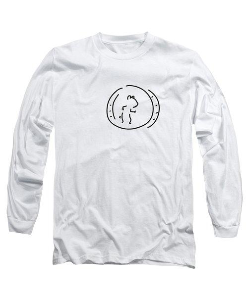 Hamster Pinch Hamster's Wheel Long Sleeve T-Shirt
