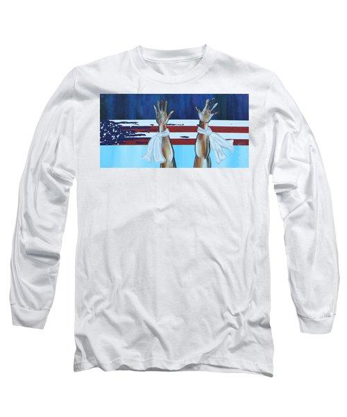 Hands Up Dont Shoot Long Sleeve T-Shirt