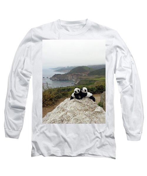 Long Sleeve T-Shirt featuring the photograph Hang On- You Got A Friend by Ausra Huntington nee Paulauskaite