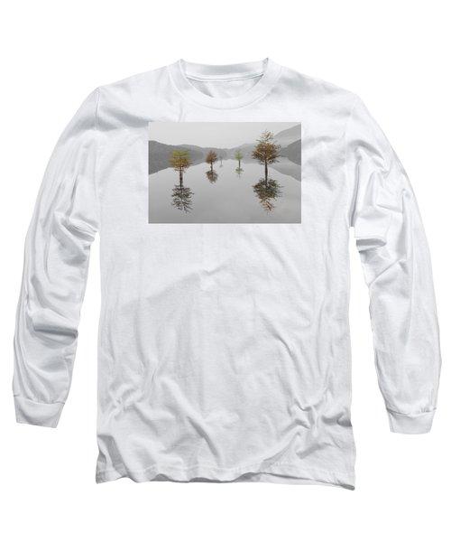 Hanging Garden Long Sleeve T-Shirt by Debra and Dave Vanderlaan
