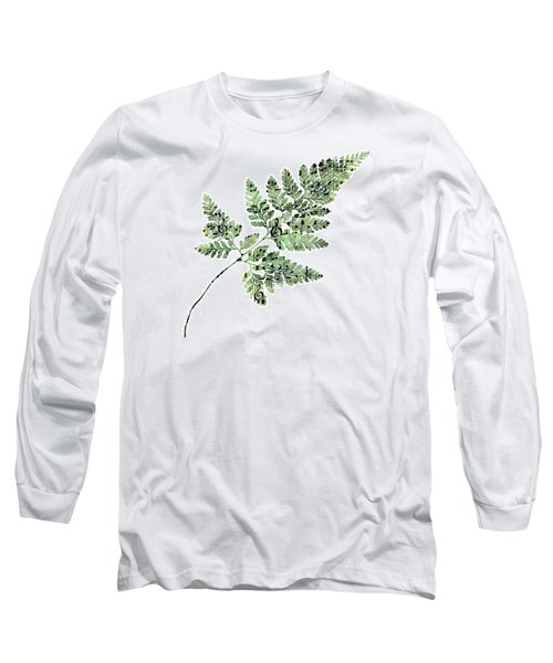 Long Sleeve T-Shirt featuring the photograph Happy Adventure Music Fern by Sandra Foster