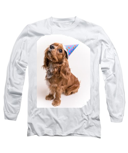 Happy Birthday Dog Long Sleeve T Shirt