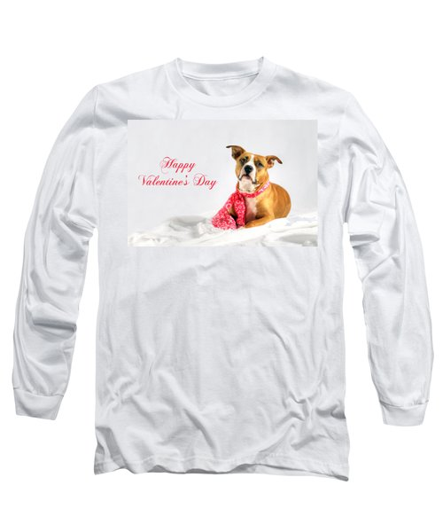 Fifty Shades Of Pink - Happy Valentine's Day Long Sleeve T-Shirt