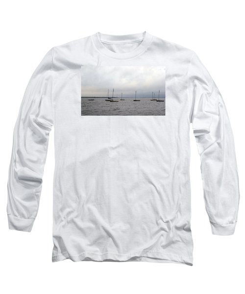 Harbor Long Sleeve T-Shirt by David Jackson