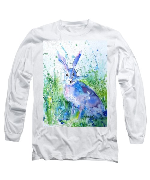 Hare Stare Long Sleeve T-Shirt by Trudi Doyle