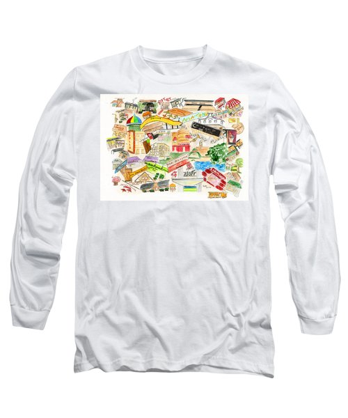 Harlem Collage Long Sleeve T-Shirt