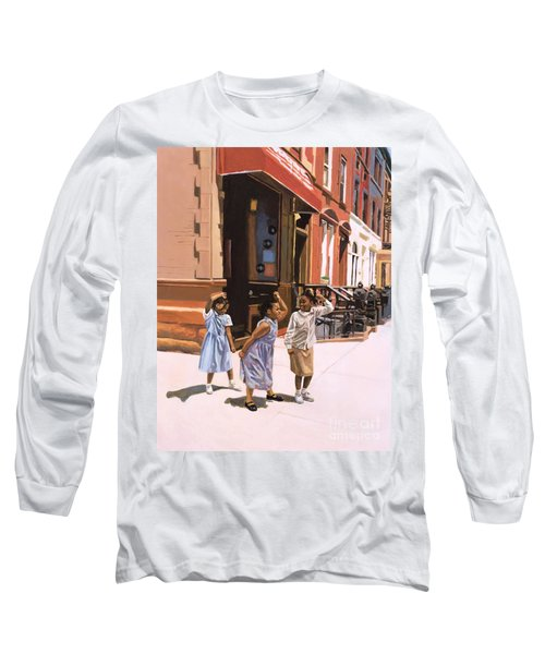 Harlem Jig Long Sleeve T-Shirt by Colin Bootman