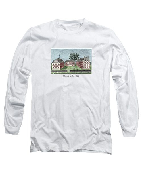 Harvard College - 1720 Long Sleeve T-Shirt