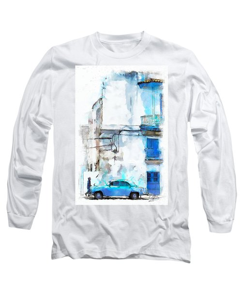 Havana Street Long Sleeve T-Shirt by Greg Collins